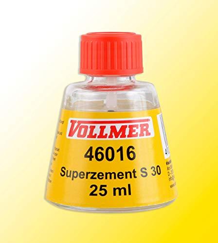 Vollmer 46016 Vollmer Superzement S 30, 25ml