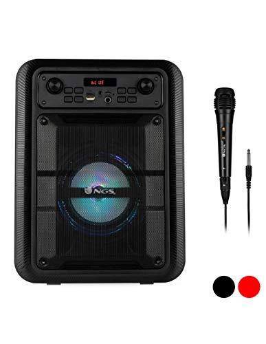 NGS Altavoz INALÁMBRICO Roller Lingo 20W Compatible con tecnología Bluetooth 5.0 y TWS. Micro SD/USB Y AUX- Bat 1200MAH-7 HRS AUTONOMÍA. Color Negro