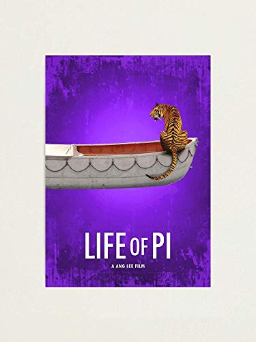 ROBERTY Life of Pi Action 3D Live Pi and Gita-Patel CookPoster Wall Art Print Painting Home Décor