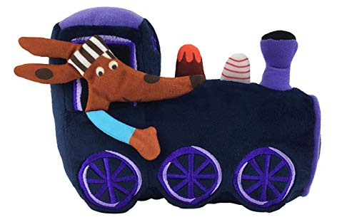 MerryMakers The Goodnight Train Soft Plush Train Stuffed Toy, 8-Inch, from June Sobel's The Goodnight Train Book Series