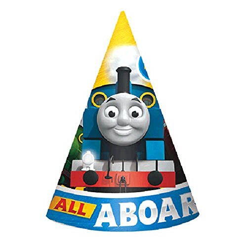 All Aboard Thomas The Tank Engine Friends' Cone Hats (8ct)