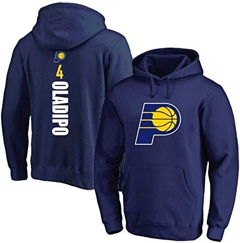 BBLTO Victor Oladipo - Sudadera con capucha para hombre, estilo Indiana Pacers, de manga larga, para entrenamiento, cómoda, informal, camiseta activa (color: A, talla: XL)