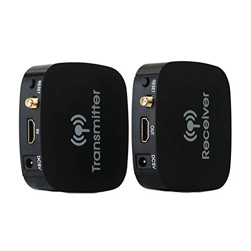 HDMI Wireless Transmitter Extender 20m 1080P Wireless HD Extender Antenne auf to 65ft Laptop Blu-ray Player Connected to HD TV Projection to Transmit HD Video