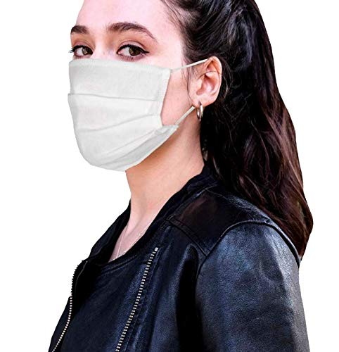 MASK, 10-er Pack, 100% Vlies, 3-lagig, waschbar wiederverwendbar in der EU hergestellt und vertrieben sofort lieferbar latexfreies Band Mundschutz Gesichtsmaske Mund Nase Maske Nasen
