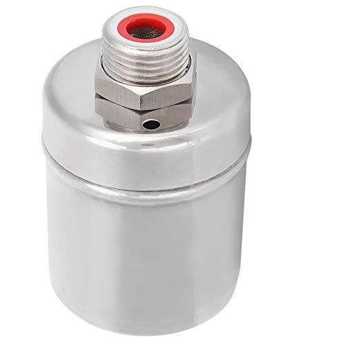 1 / 2in schwimmendes Kugelhahn, automatisches Wasserregelventil aus Edelstahl, schwimmender Kugelhahn für Wassertanks, Pools, Wassertürme