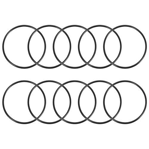 sourcing map 10 Stück O-Ring Nitrilkautschuk 65,2mm x 70mm x2,4mm Dichtungsringe Dichtung DE de