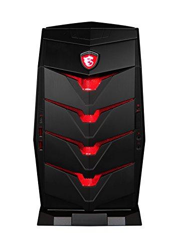MSI Aegis-005DE Gaming PC (Intel Core i7 6700, 16GB RAM, 1TB HDD, 256GB SSD, NVIDIA GeForce GTX 970 4 GB GDDR5, Win 10 Home) schwarz