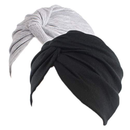 Sombrero Chemo de la Gorrita Tejida de algodón de Las Mujeres Casquillo...
