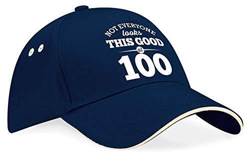 100th Birthday Gift Baseball Cap Hat Idea Present keepsake for Women Men