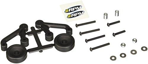 RPM Low Visibility Wheelie Bars, Black