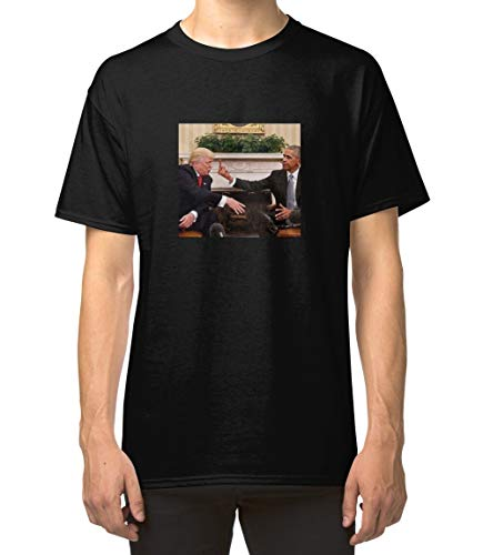 Obama Flipping Off Trump Classic Unisex T-Shirt, Ladies T-Shirt, Sweatshirt, Hoodie