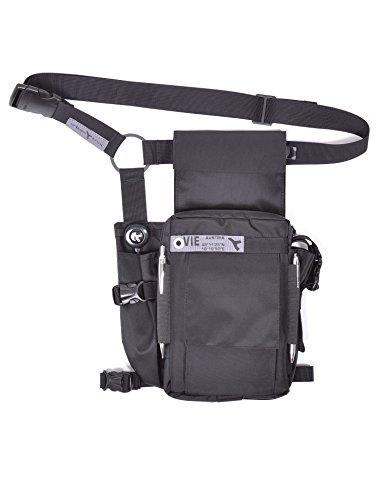 URBAN TOOL travel legHolster - Beintasche für Handy, Tablet und mehr - schwarz