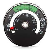 Augneveres Termómetro Magnético Superior Termómetro Estufa De Leña Termómetro Tubo De Humo Chimenea Estufa Medidor Temperatura De Estufa para Evitar Ventilador De Estufa Dañado por judicious