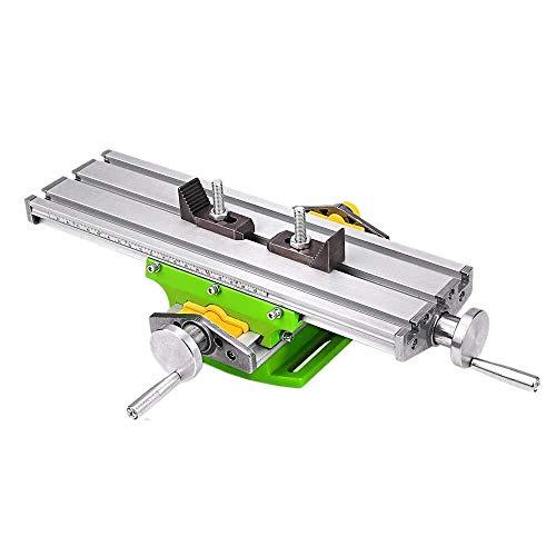 XUSHEN-HU Mesa de trabajo Mesa de trabajo de fresado multifunción BG6330 Fresadora de perforación Compuesto tabla deslizante for taladro de banco Herramientas