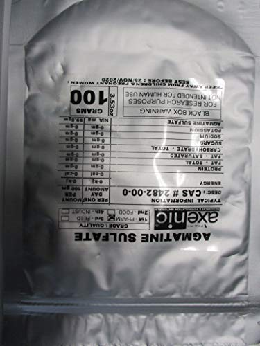 AXENIC Agmatine Sulphate 100gm - 98.5% Pure Powder agmatine sulfate -