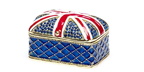 aubaho Schmuckschatulle Englische Flagge Pillendose England Schmuckdose Jewelry
