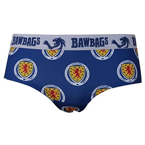 Cool de Sacs Damen-Unterwäsche, schottisches Nationalteam, technische Unterwäsche, blau, 12