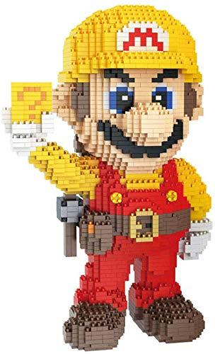 LNLJ Micro Mini-Blöcke Für Kinder Und Erwachsene, Super Mario DIY-Modell Für Geschenksammlung,Engineer...