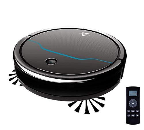 BISSELL EV675 Aspirateur robot pour sols durs et tapis, autonomie de 100 minutes, multi surface,...