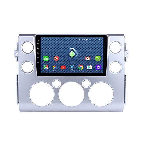 Android 8.1 Radio De Automóvil Para 2017-2018 Toyota FJ Cruiser Car Estéreo GPS Navegación Táctil Pantalla Coche Reproductor De Medios Doble Din Head Unit Support WiFi Control De (Color:4G+WIFi:2+32G)