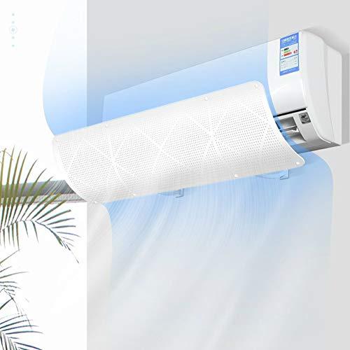 AkoMatial - Deflettore universale per aria condizionata a soffiaggio, per parabrezza e accessori per condizionatore d'aria a parete