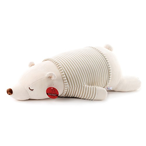 Niuniu Daddy 30 inch Super Soft Plush Polar Bear Stuffed Animal Toy Plush Soft Hugging Animal Pillow