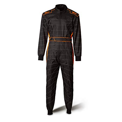 Speed Overall Cordura Atlanta CS-2 Schwarz/Neon-Orange Gr.L