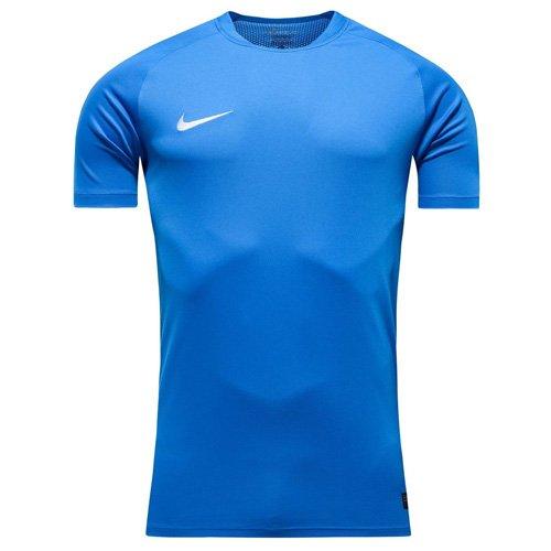 NIKE Herren Flash Kurzarm T-Shirt, blau - Photo Blue/White, L