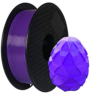 PLA Filament 1.75mm, Geeetech 3D Printer PLA Filament,1.75mm,1kg per Spool,Purple
