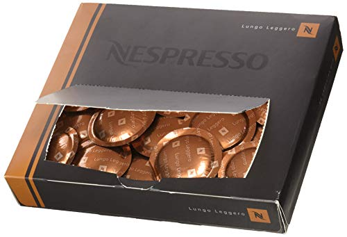 Nespresso Pro Capsules Pods - 50x Lungo Leggero - Original - for commercial machines