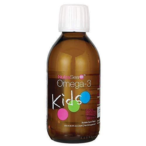 Ascenta NutraSea Kids™ Omega-3 Fish Oil, 520mg + 500IU Vitamin D, Bubble Gum, 6.8 fl oz.