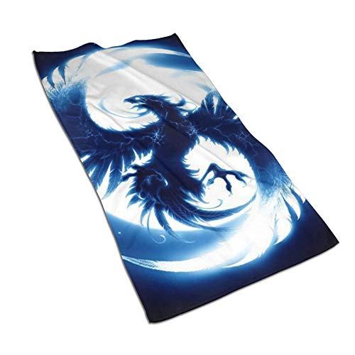 XCNGG Toallas Toallas de Moda Toallas Suaves Toallas absorbentes Toallas de Mano Toallas de Secado rápido Hawk Monster