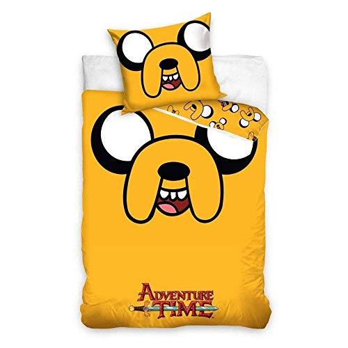 Carbotex Parure de Lit 140x200 + 70x90 Adventure Time AT2001