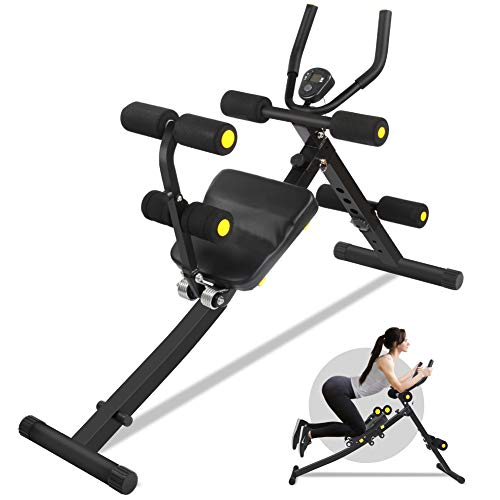 ERGO LIFE Foldable Ab Exercise Machine, Core& Abdominal Home Gym Trainers Abdominal Workout Machine,...
