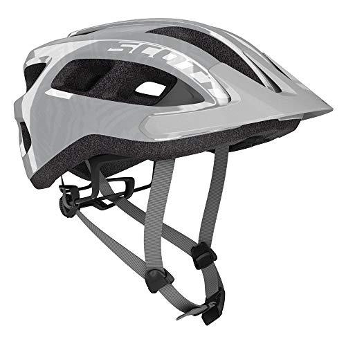 Scott 275211 - Casco de Bicicleta Unisex para Adulto, Vogue Silver, Talla 1