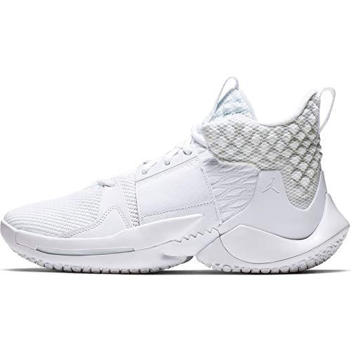 Nike Jordan Why Not Zer0.2 - white/white-metallic gold, Größe:11