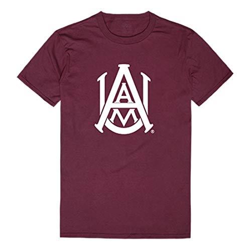 W Republic AAMU Alabama A&M University Bulldogs Freshman Tee T-Shirt Maroon X-Large