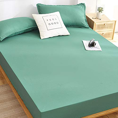 haiba Waterproof Mattress Protector Fitted Bed Sheet Topper Cover Breathable Stain Proof Non-Allergenic & Non-Noisy Easy Fit | king,120cmX200cm+25cm