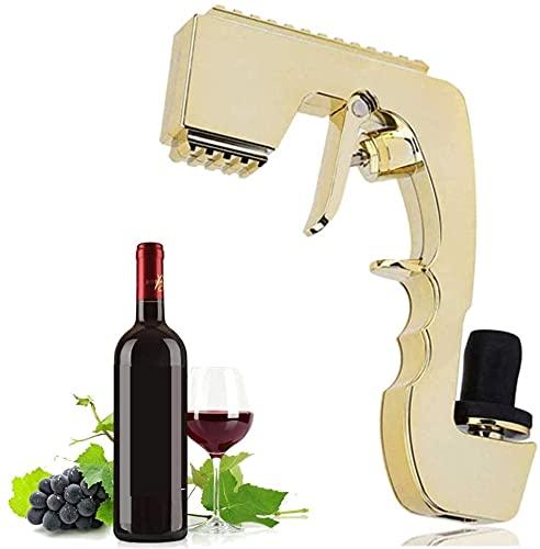 Pistola de spray de champagne, tapón de vino, dispensador de vinos tinto champán, pulverizador de cerveza para celebraciones de cumpleaños, ceremonias de boda, yates y fiestas de piscina, festivales d