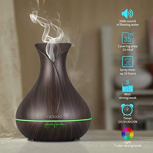 Aidodo 400ml Humidificador Ultrasónico...