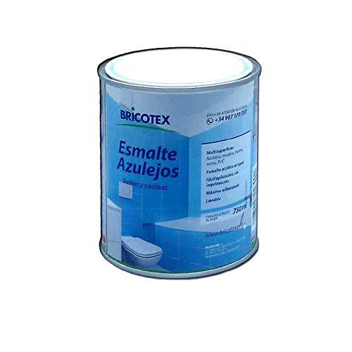 Peinture pour carrelage de cuisine et de salle de bain (750 ml, Blanc)