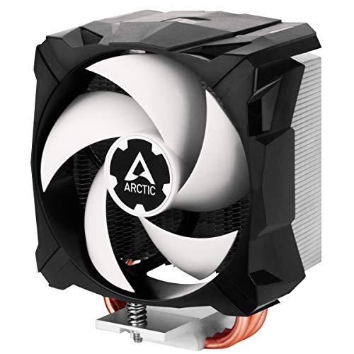 ARCTIC Freezer A13 X - Refrigerador Compacto para CPU, AMD, 100 mm, 300-2000 RPM (Controlado por PWM), Rodamiento Dinámico Fluido, Pasta MX-2 pre-aplicada - Negro