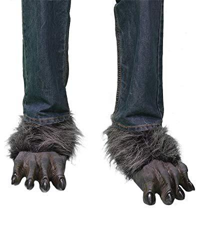 wolf feet costume - 2
