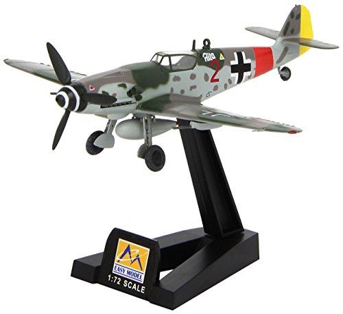 EasyModel Messerschmitt BF 109g-10 Germania 1945 finito modello 1:72 supporto
