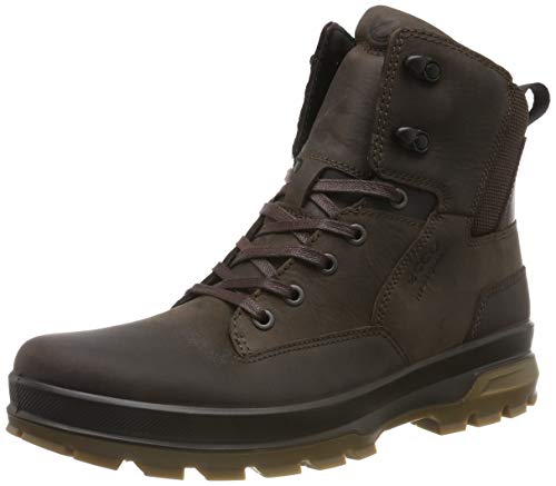 ECCO Men's Rugged Track High Rise Hiking Shoes, Brown (Coffee/Coffee...