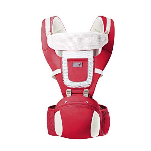 Usage été Porte-bébé Multifonction Respirant Assis sur Le Banc de Taille Devant de bébé Usage général ( Color : B )