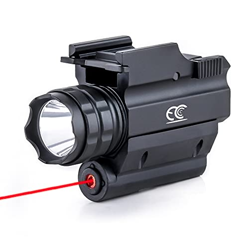MCCC Tactical Red Laser Sight with 500 Lumens CREE...