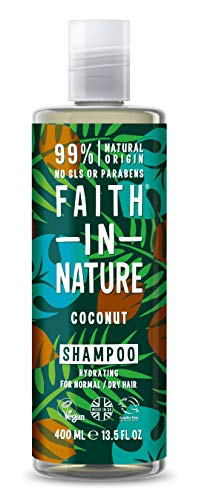 Faith in Nature Natural Coconut Shampoo, 400ml