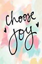 Choose Joy: Bible Verse Quote Cover Composition A5 Size Christian Gift Ruled Journal Notebook Diary To Write In For Sermon Notes, Devotional, Bible ... Paperback (Ruled 6x9 Journals) (Volume 33)