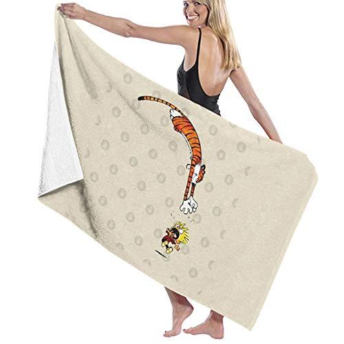 U/K Calvin And Hobbes 1 toalla de baño de secado rápido